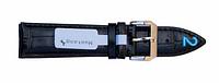 Ремешок для часов из кожи Mustang Standart 22 мм, стальная бакля