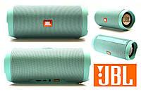 Портативная колонка JBL Charge J3 мятная Bluetooth,AUX,MicroSD реплика