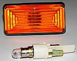 Повторитель поворотов боковой ВАЗ 2105,07,04 (Желтый)(ОСВАР), фото 3