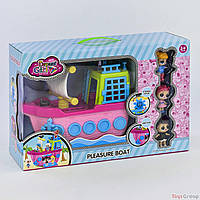 Набор куклы LOL с кораблем 588-11 (12) в коробке