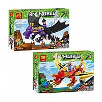 """Конструктор Lele 33160 (Аналог Lego Minecraft) """"Битва на драконе"""" 192 дет"""