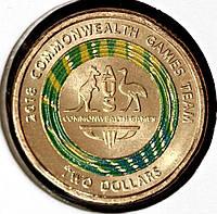 Монета Австралии 2 доллара 2018 г. XXI Игры команд содружества