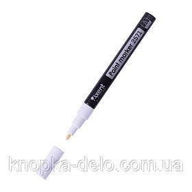 Маркер Axent Paint 2571-21-A, 1,8-2,2 мм, круглый белый