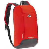 Детский спортивный рюкзак унисекс на 10 л QUECHUA, красный