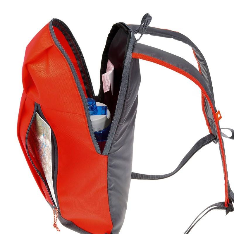 Спортивный рюкзак QUECHUA 10L, красный, фото 5