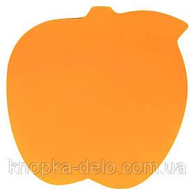 Блок бумаги Axent 2443-04-A с липким слоем, 70x70 мм, 50 листов, яблоко
