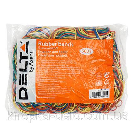 Резинки для денег Delta D4622, 500 г, цветные, фото 2