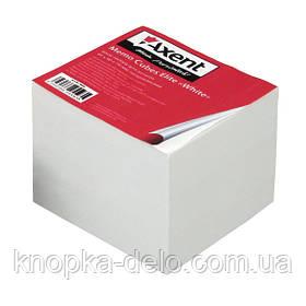 """Бумага Axent Elite """"White"""" 8008-A для заметок, 90х90х70 мм, непроклеенная"""