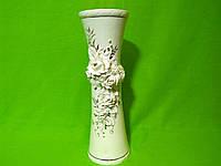 Керамическая настольная ваза «Тария» лепка с росписью