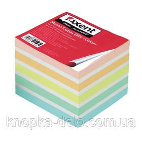 """Бумага Axent Elite """"Color"""" 8026-A для заметок цветная, 90х90х40 мм, непроклеенная"""