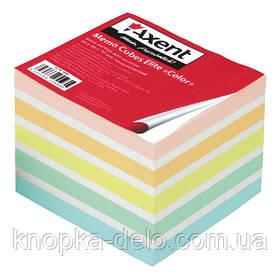 """Бумага Axent Elite """"Color"""" 8028-A для заметок цветная, 90х90х70 мм, непроклеенная"""