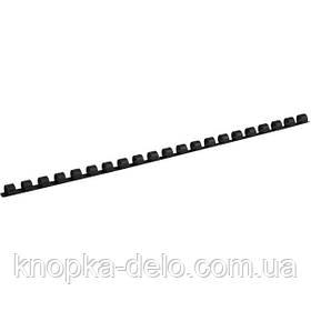 Пружина пластиковая Axent 2908-01-A 8 мм, черная, 100 штук