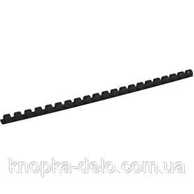 Пружина пластиковая Axent 2910-01-A 10 мм, черная, 100 штук