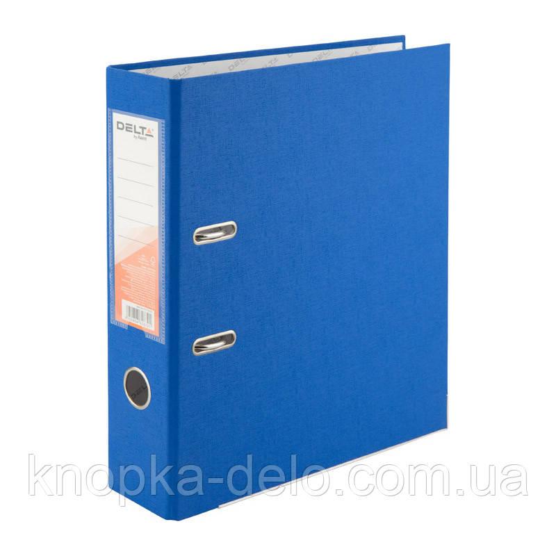 Папка-реєстратор Delta D1714-07P одностороння, PP, 7.5 см, розібрана, блакитна