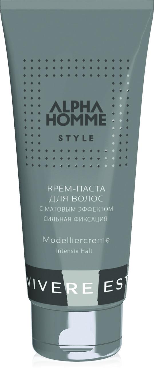 Крем–паста для волос ALPHA HOMME, 100 мл