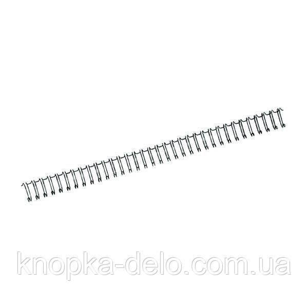 Пружина металлическая Axent 2810-A 95 мм, черная, 100 штук