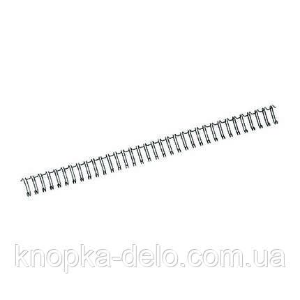 Пружина металлическая Axent 2810-A 95 мм, черная, 100 штук, фото 2