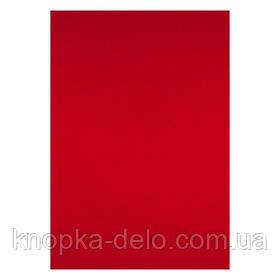 """Обложка картонная """"под кожу"""" ( 50 шт)., красная"""