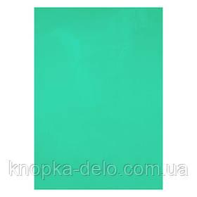 Обложка пластиковая прозрачная А4, 180 мкм (50 шт.), зеленая