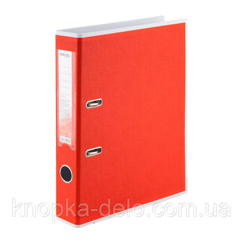 Папка-реєстратор Delta BiColor D1715-06P двостороння, PP, 5 см, розібрана, червона