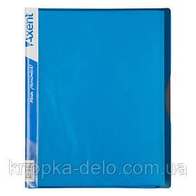 Дисплей-книга Axent 1120-07-A 20 файлов, голубая