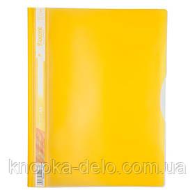 Скоросшиватель Axent 1312-08-A 5 отделений, А4, желтый