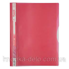 Скоросшиватель Axent 1312-10-A 5 отделений, А4, розовый