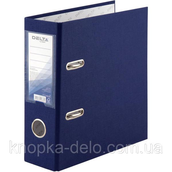 Папка-регистратор Delta D1718-02C односторонняя, А5, PP, 7.5 см, собранная, синяя