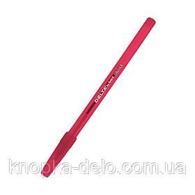 Ручка  шариковая Delta DB 2055-06, красная, 0.7 мм, красный корпус