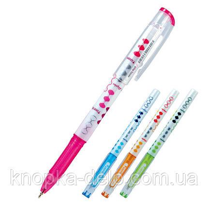 Ручка шариковая Axent Kaprice AB1012-02-A, синяя, 0.38, фото 2