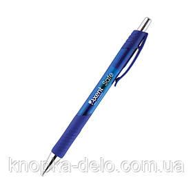 Ручка гелевая автоматическая Axent Safe AG1074-02-A, синяя, 0.5 мм