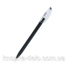 Ручка шариковая Axent Direkt AB1002-01-A, чёрная, 0.5 мм