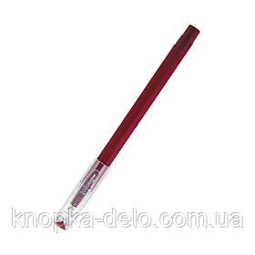 Ручка шариковая Axent Direkt AB1002-06-A, красная, 0.5 мм