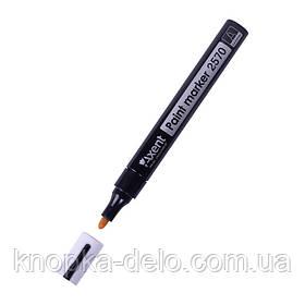 Маркер Axent Paint 2570-01-A, 2.4-2.8 мм, круглый черный