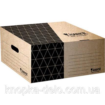 Короб для боксов архивных Axent 1734-00-A крафт, фото 2