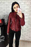 Куртка женская кожаная (лайка) 030