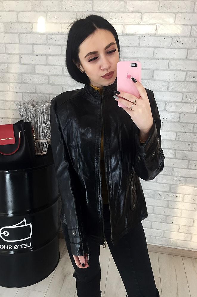 Куртка женская кожаная (лайка) 101/05