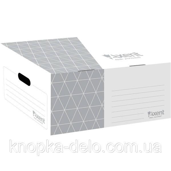 Короб для боксов архивных Axent 1734-03-A серый