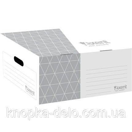 Короб для боксов архивных Axent 1734-03-A серый, фото 2