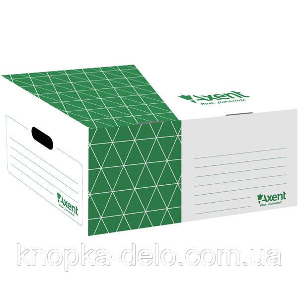 Короб для боксов архивных Axent 1734-04-A зеленый