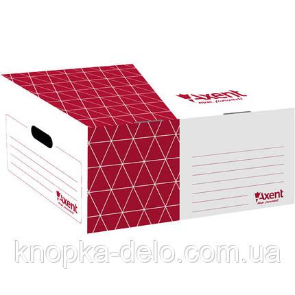 Короб для боксов архивных Axent 1734-06-A красный, фото 2