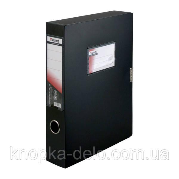 Папка-коробка Axent 1760-01-A, А4