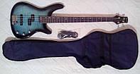 Классная бас-гитара Wilson + чехол + ремень!, фото 1