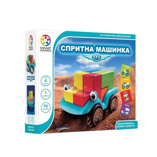 Настільна гра Smart Games Спритна машинка (SG 018 UKR)