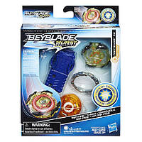 HASBRO Набор Бейблэйд Роктавор светящийся, Beyblade Burst Evolution Starter Pack Roktavor R2, оригинал из США