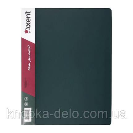 Папка-швидкозшивач Axent 1304-05-A, А4, зелена, фото 2