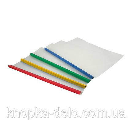 Папка-скоросшиватель Axent 1417-00-A, A4, с планкой, фото 2