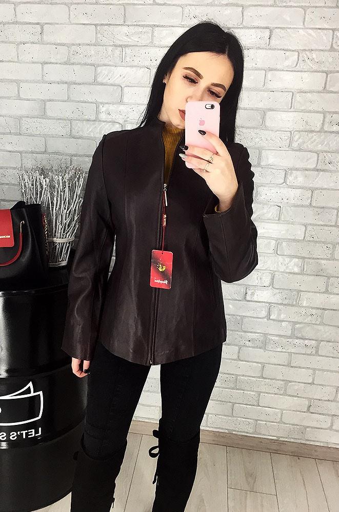 Пиджак женский кожаный (лайка) 022