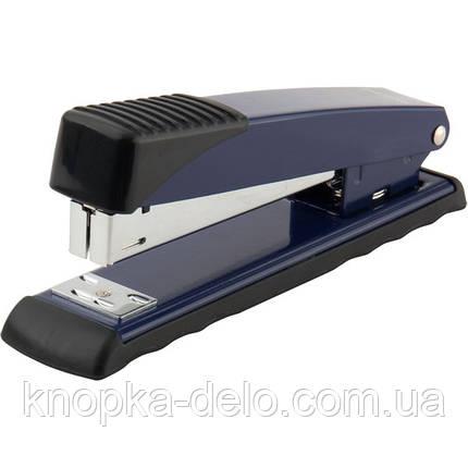 Степлер Axent Exakt-2 4927-02-A металлический, №24/6, 25 листов, синий, фото 2