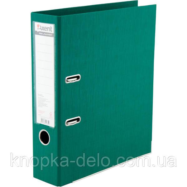 Папка-реєстратор Axent Prestige+ 1722-04P-A, A4, з двостороннім покриттям, корінець 7.5 см, зелена